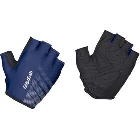 GripGrab Ride Lightweight Gevoerde Halve Vinger Handschoenen, blauw/zwart